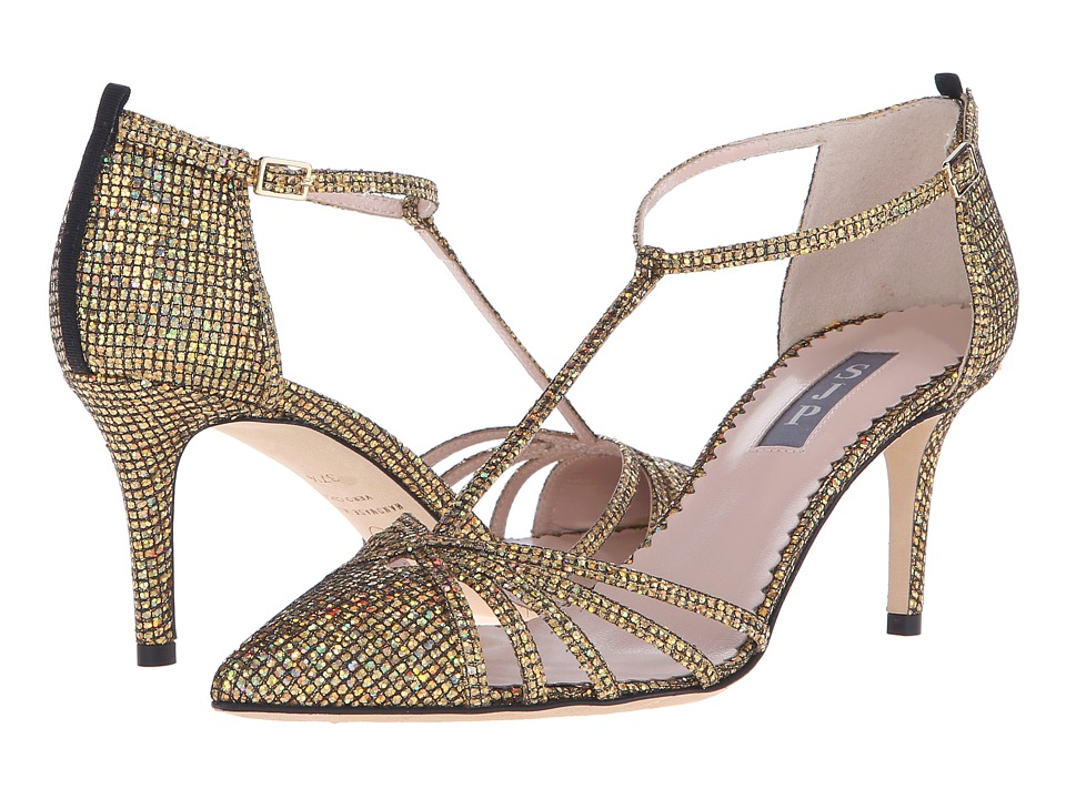SJP by Sarah Jessica Parker - Carrie 70 (Gold Scintillate Glitter) Women's Shoes