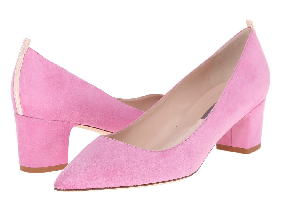 SJP by Sarah Jessica Parker - Katrina (Lolli Pink Suede) Women's Shoes
