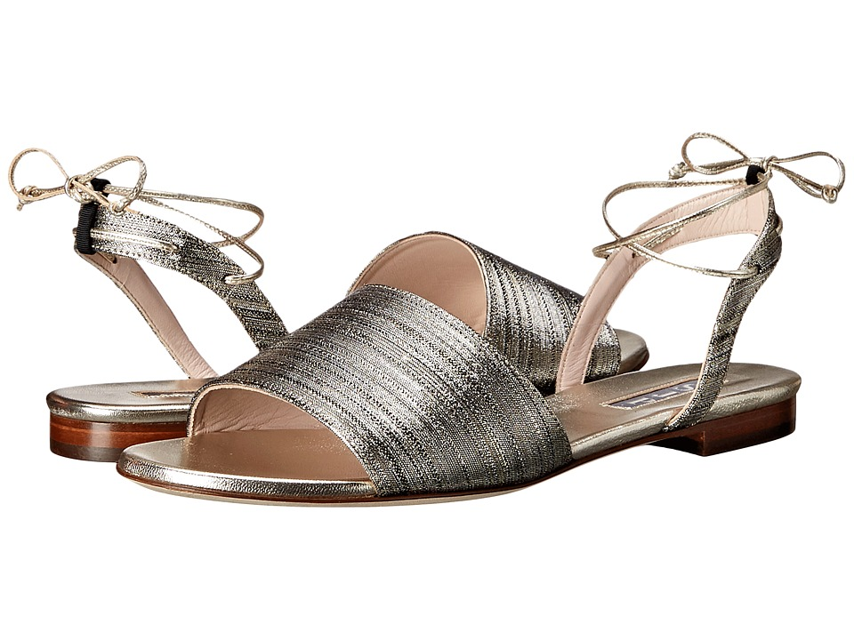 SJP by Sarah Jessica Parker - Rome (Deeply Silver Metallic) Women's Shoes