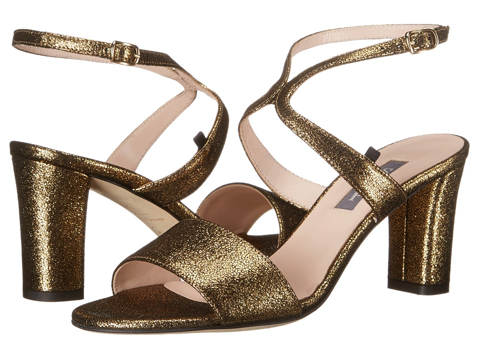 SJP by Sarah Jessica Parker - Harmony (Oro Gold Glitter) Women's Sandals
