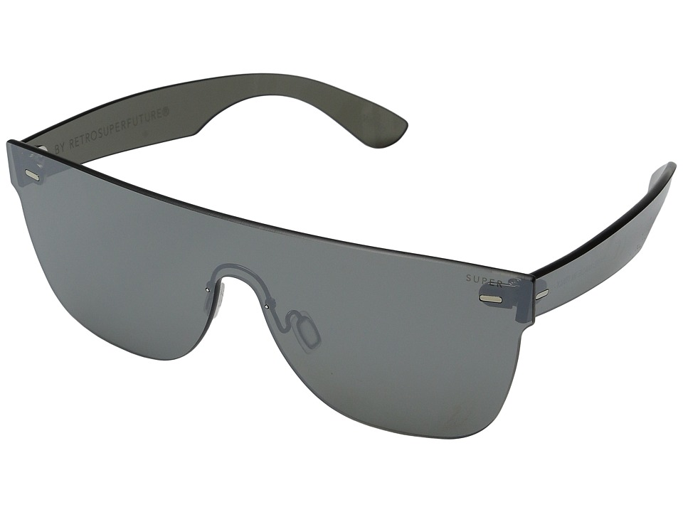 Super - Flat Top Tuttolente (Silver Mirror) Fashion Sunglasses