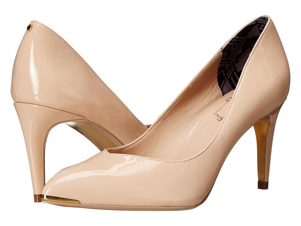 Ted Baker Moniirra 3 (Nude Patent) High Heels