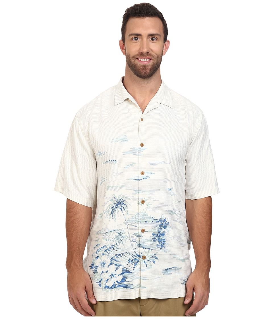 Tommy Bahama Big & Tall - Big Tall LA Vie Island Woven Shirt (Continental) Men's Short Sleeve Button Up