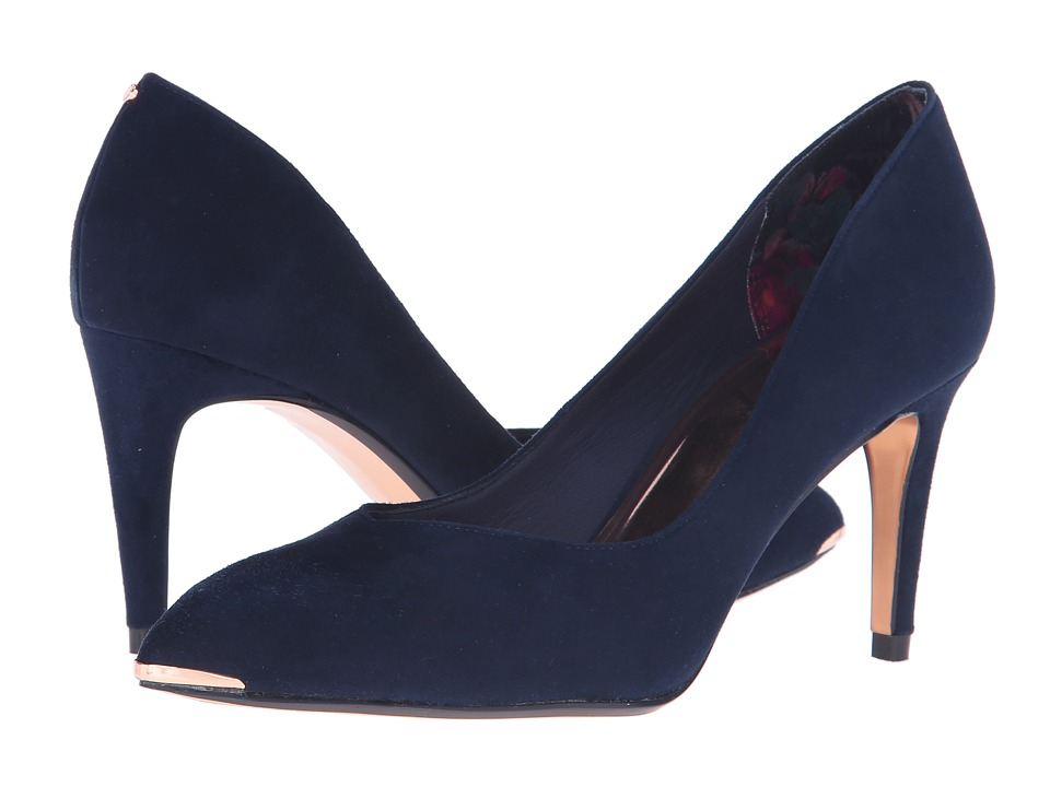 Ted Baker - Moniirra 3 (Dark Blue Suede) High Heels
