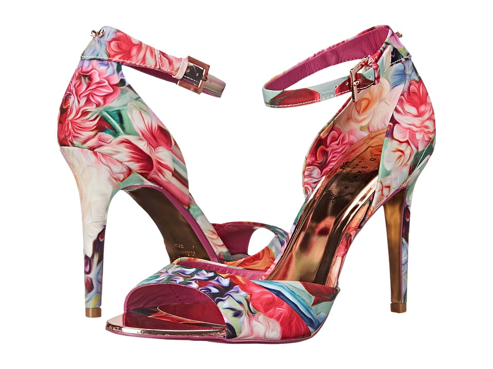 Ted Baker Caleno (Floral Swirl Textile) High Heels