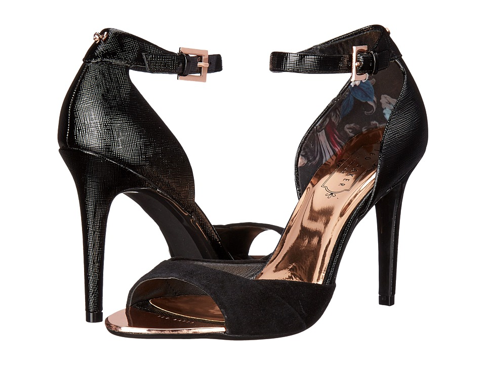 Ted Baker - Camiyl (Black Leather) High Heels