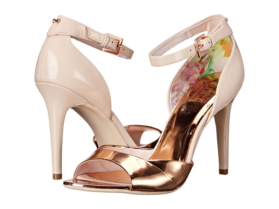 Ted Baker - Camiyl (Light Pink/Rose Gold Leather) High Heels