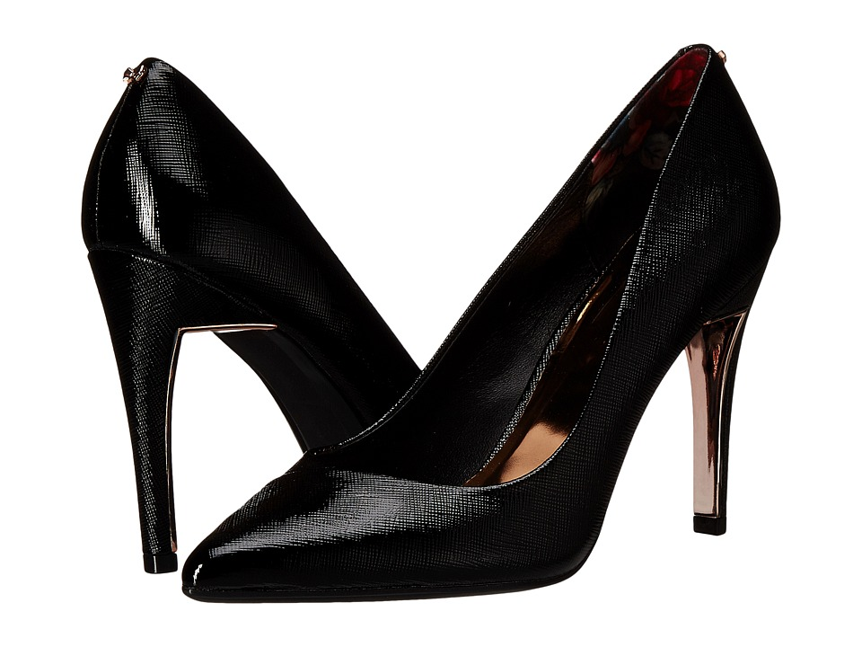 Ted Baker - Cossay (Black Leather) High Heels