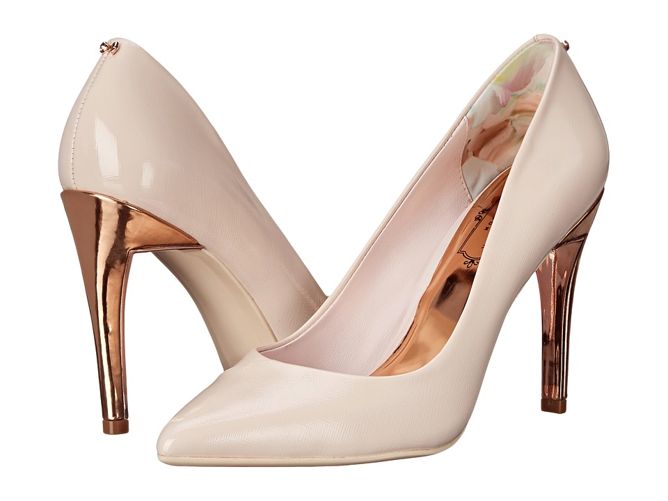 Ted Baker - Cossay (Light Pink Leather) High Heels