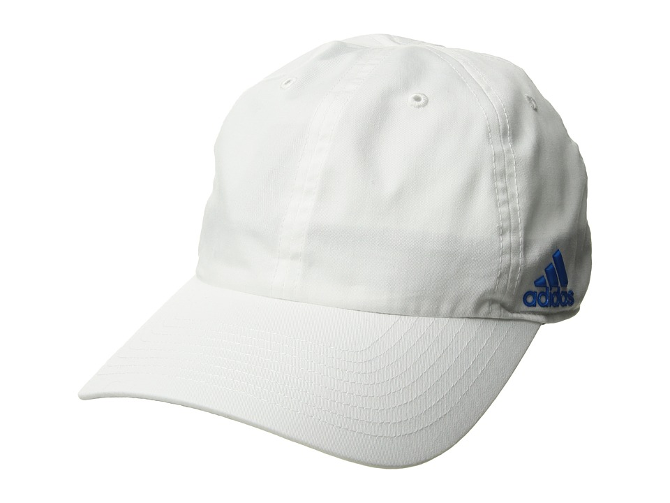 adidas - Halo Cap (White/Shock Blue) Caps