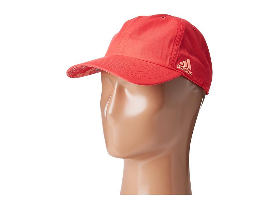 adidas - Halo Cap (Shock Red/Sun Glow/Sherbet Print) Caps