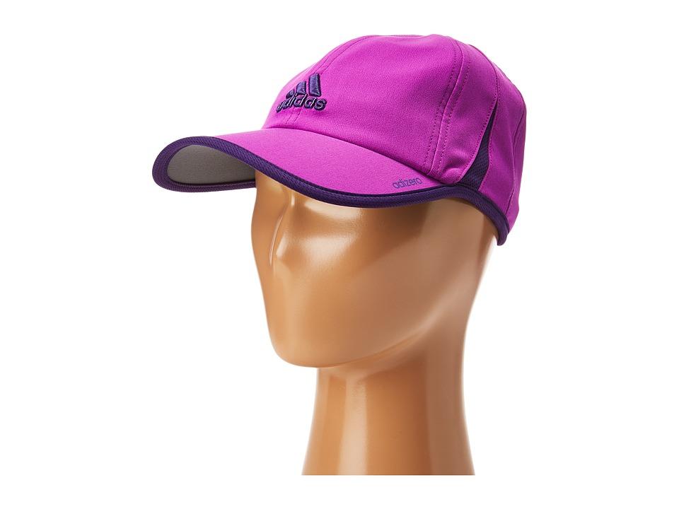 adidas - Adizero II Cap (Shock Purple/Rich Purple) Caps