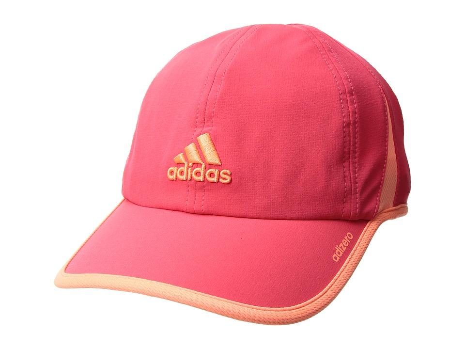 adidas - Adizero II Cap (Shock Red/Sun Glow) Caps