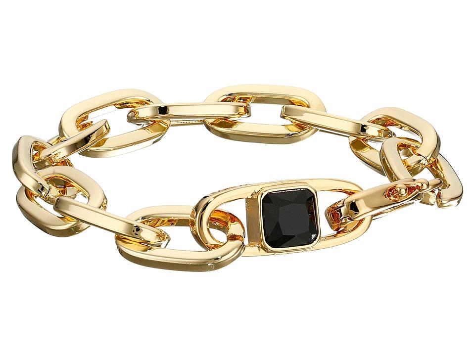 Vince Camuto - Oval Link Bracelet (Gold/Jet) Bracelet