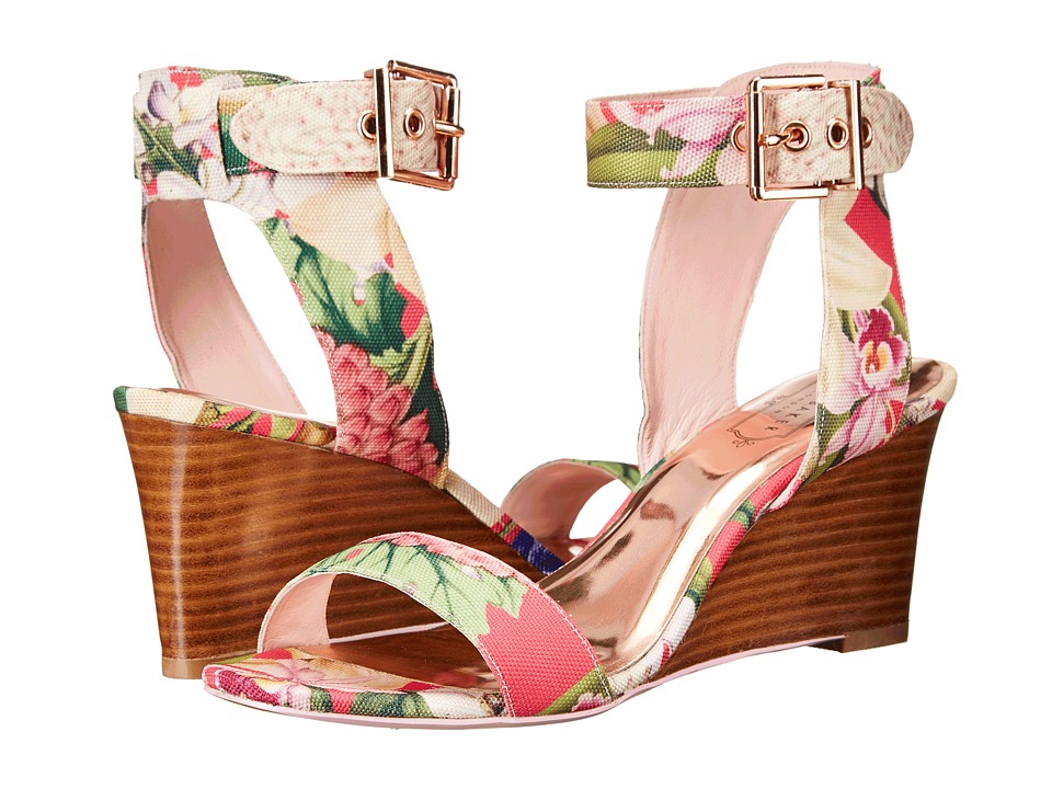 Ted Baker - Lernox (Encyclopaedia Floral Textile) Women's Wedge Shoes