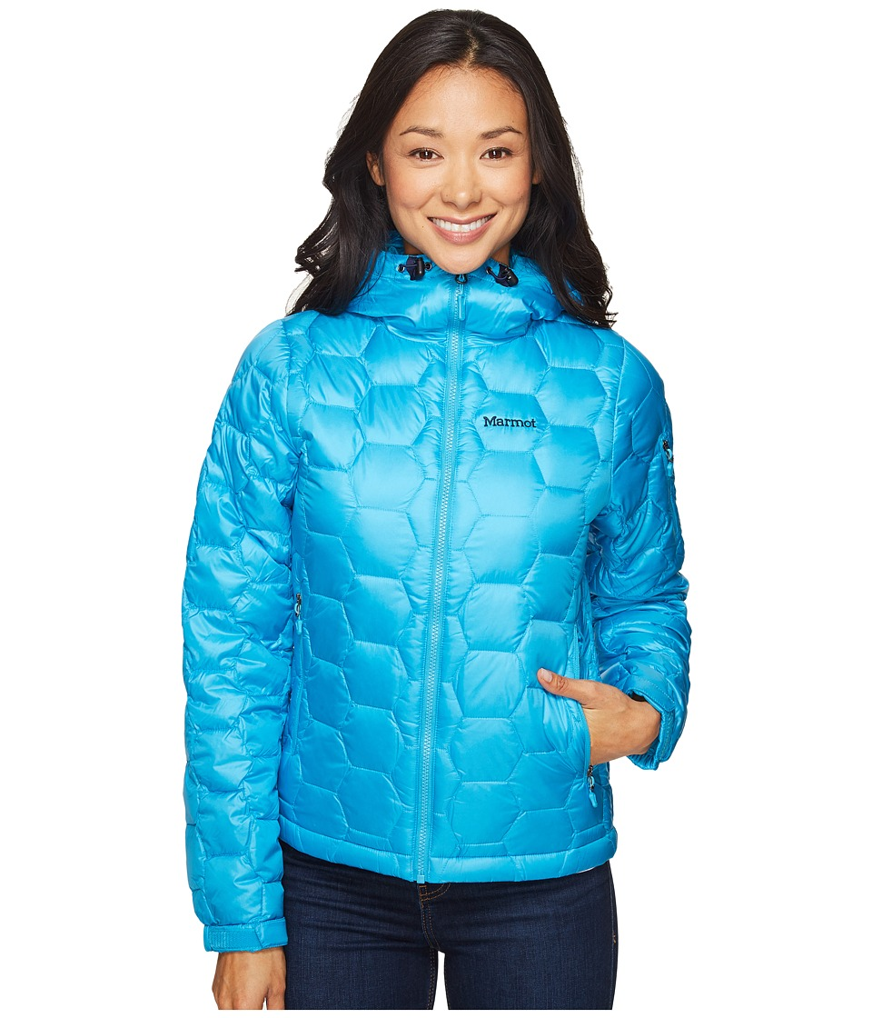 Marmot - Ama Dablam Jacket (Blue Sea) Women's Coat