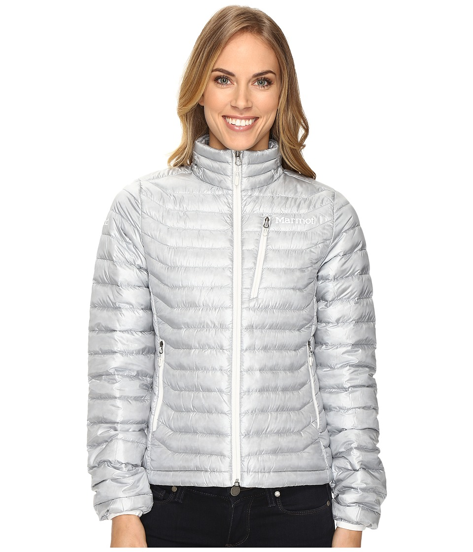 Marmot - Quasar Jacket (Silver) Women's Coat