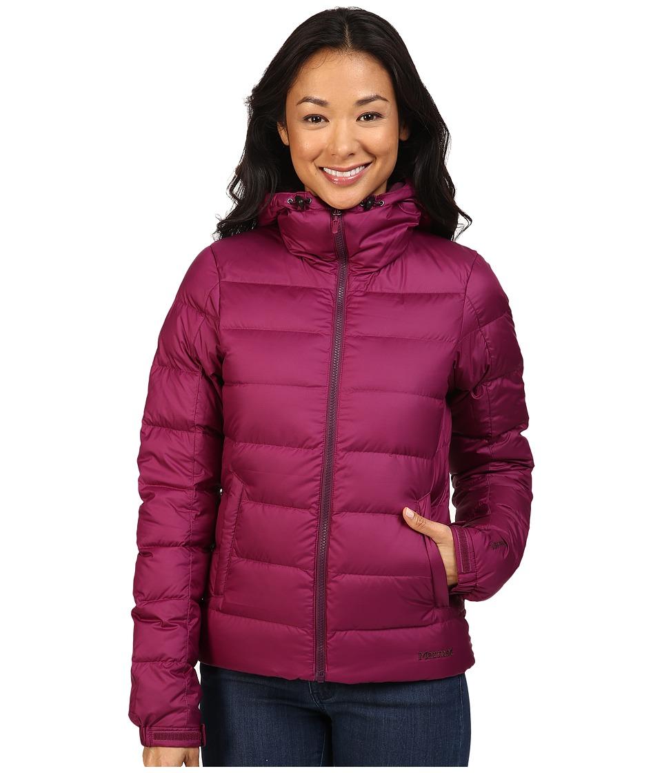 Marmot - Guides Down Hoodie (Magenta) Women's Sweatshirt