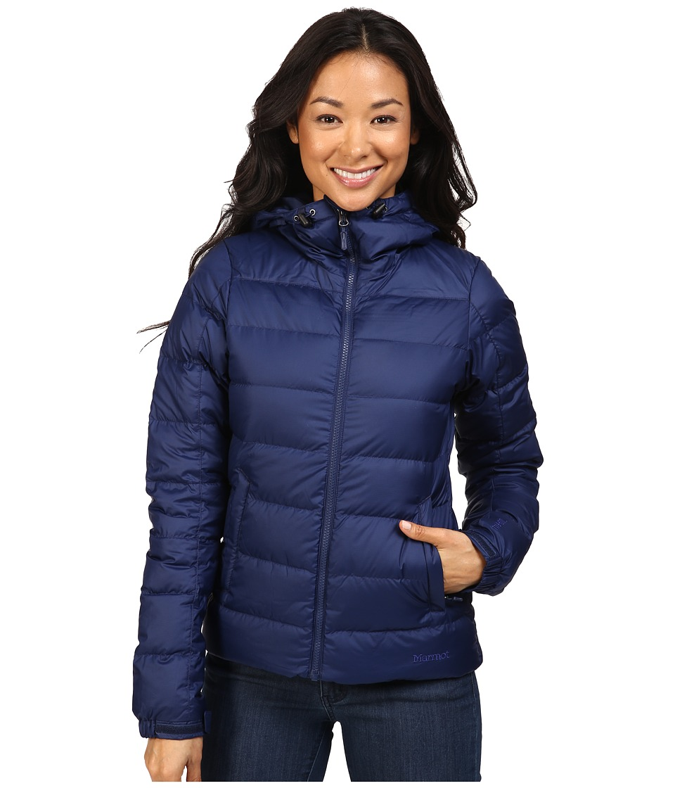 Marmot - Guides Down Hoodie (Arctic Navy) Women's Sweatshirt