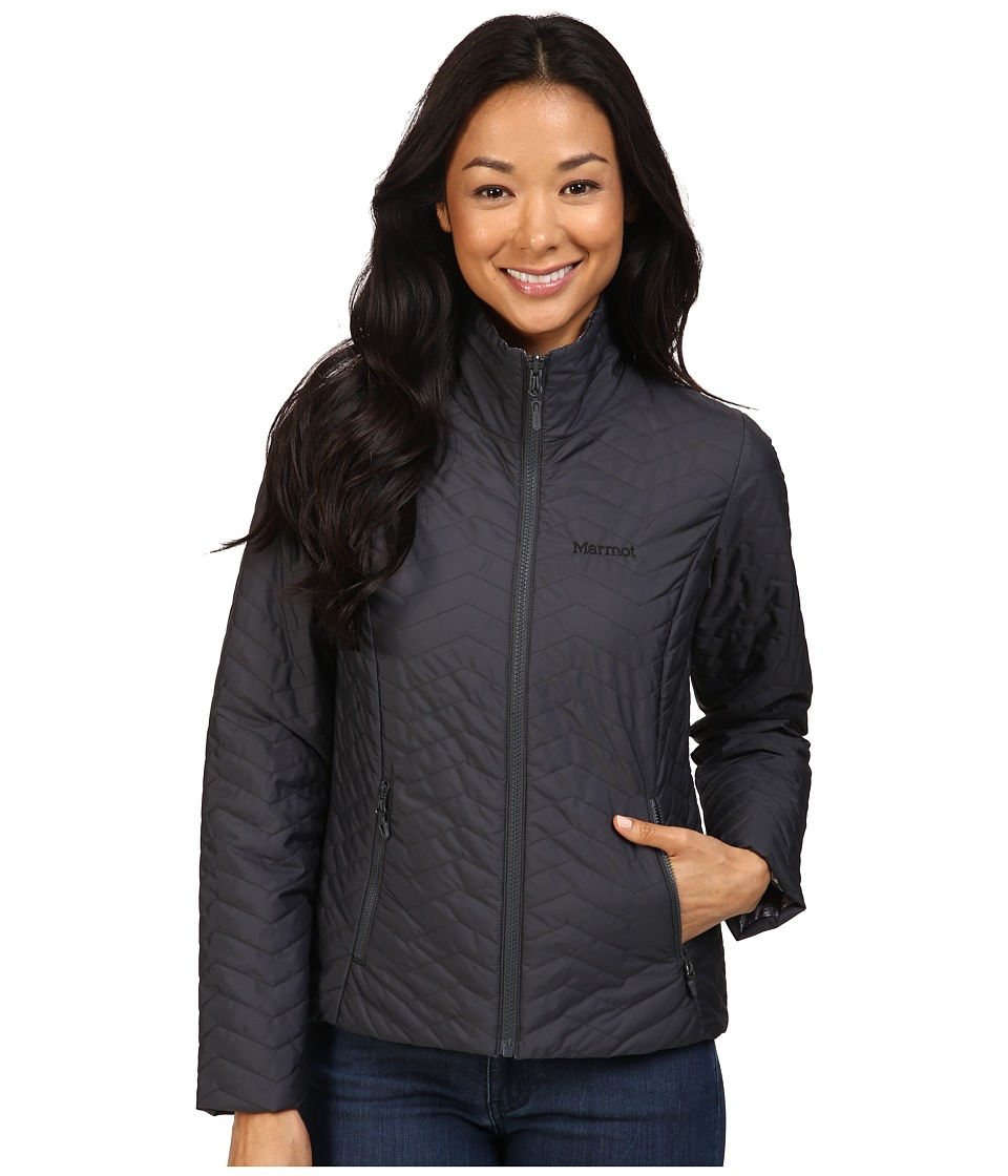 Marmot - Turncoat Jacket (Dark Steel/Black Ice) Women's Coat
