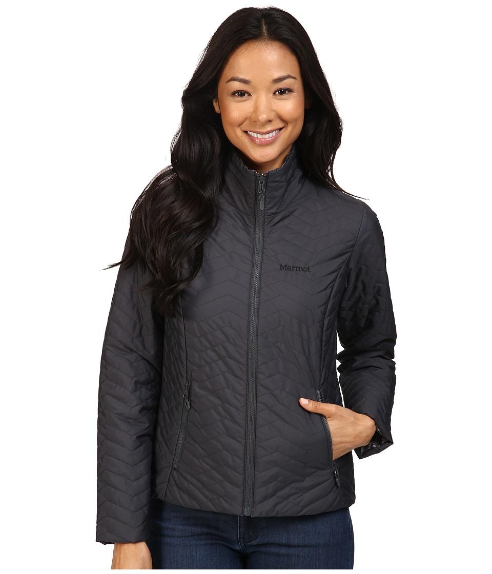 Marmot - Turncoat Jacket (Dark Steel/Black Ice) Women's Coat