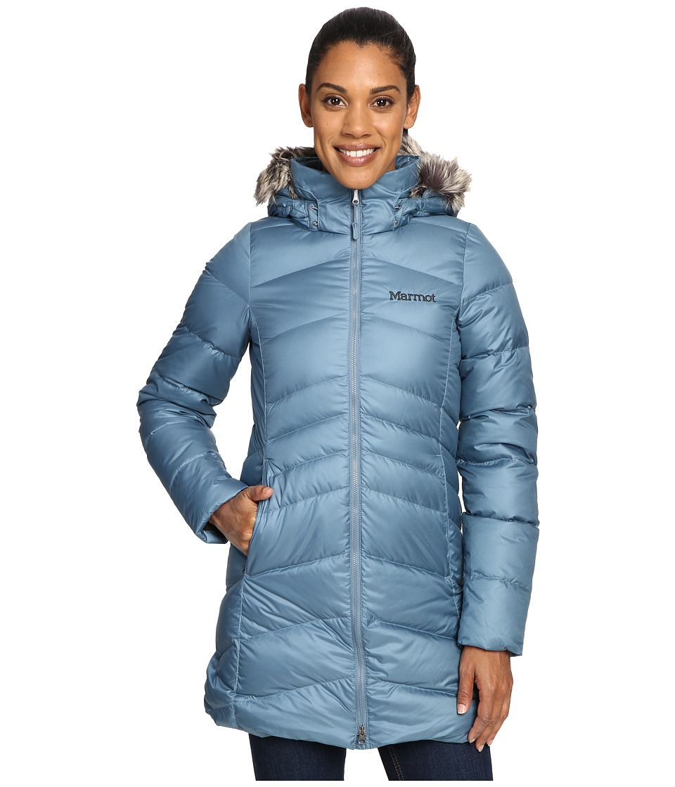Marmot - Montreal Coat (Blue Steel) Women's Coat