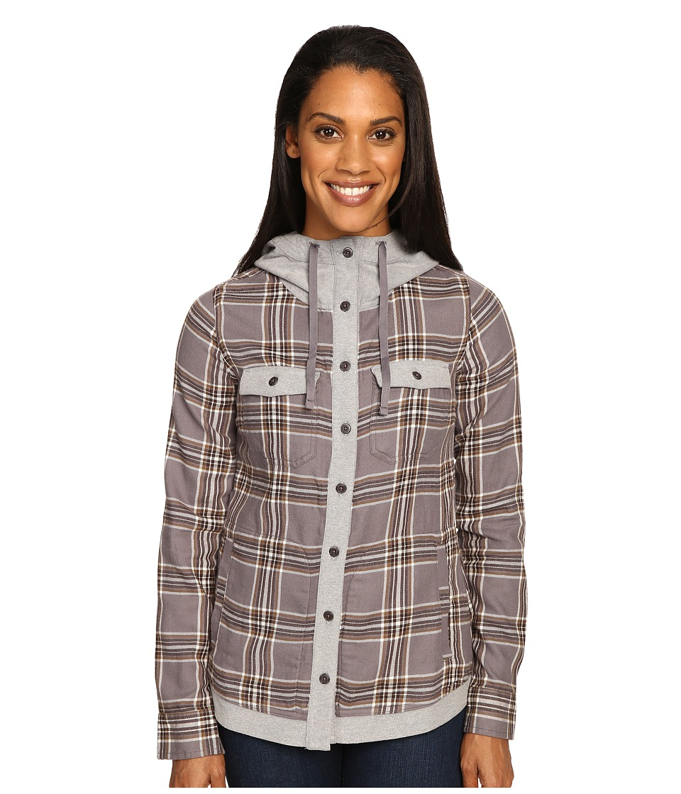 Marmot - Reagan Flannel Long Sleeve (Winter Stone) Women's Long Sleeve Button Up