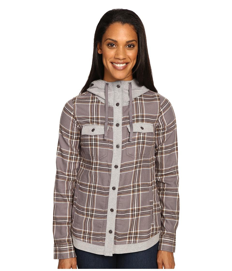 Marmot - Reagan Flannel Long Sleeve (Winter Stone) Women's Long Sleeve Button Up