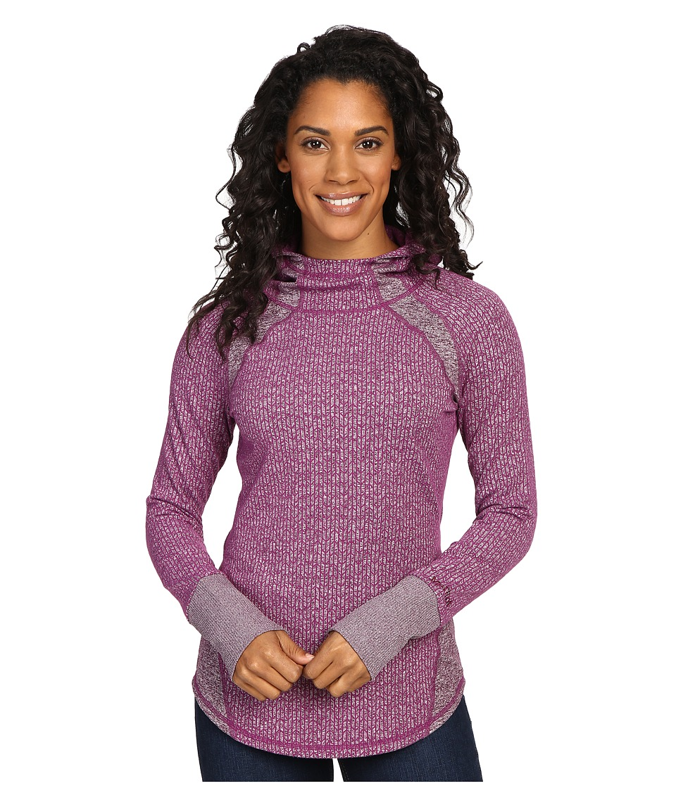 Marmot - Jayme Hoodie (Dark Purple) Women's Sweatshirt