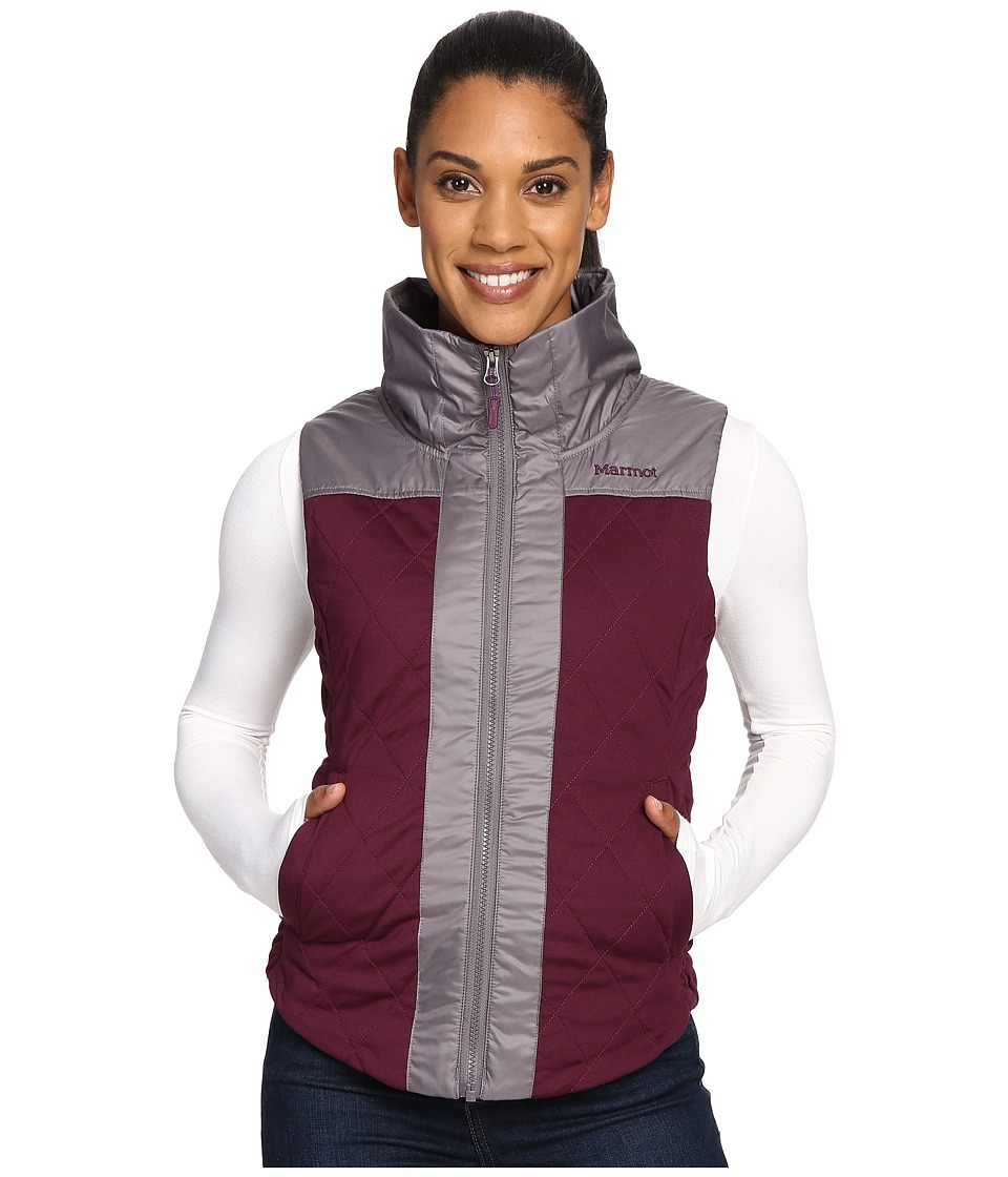 Marmot - Abigal Vest (Dark Purple/Winter Stone) Women's Vest