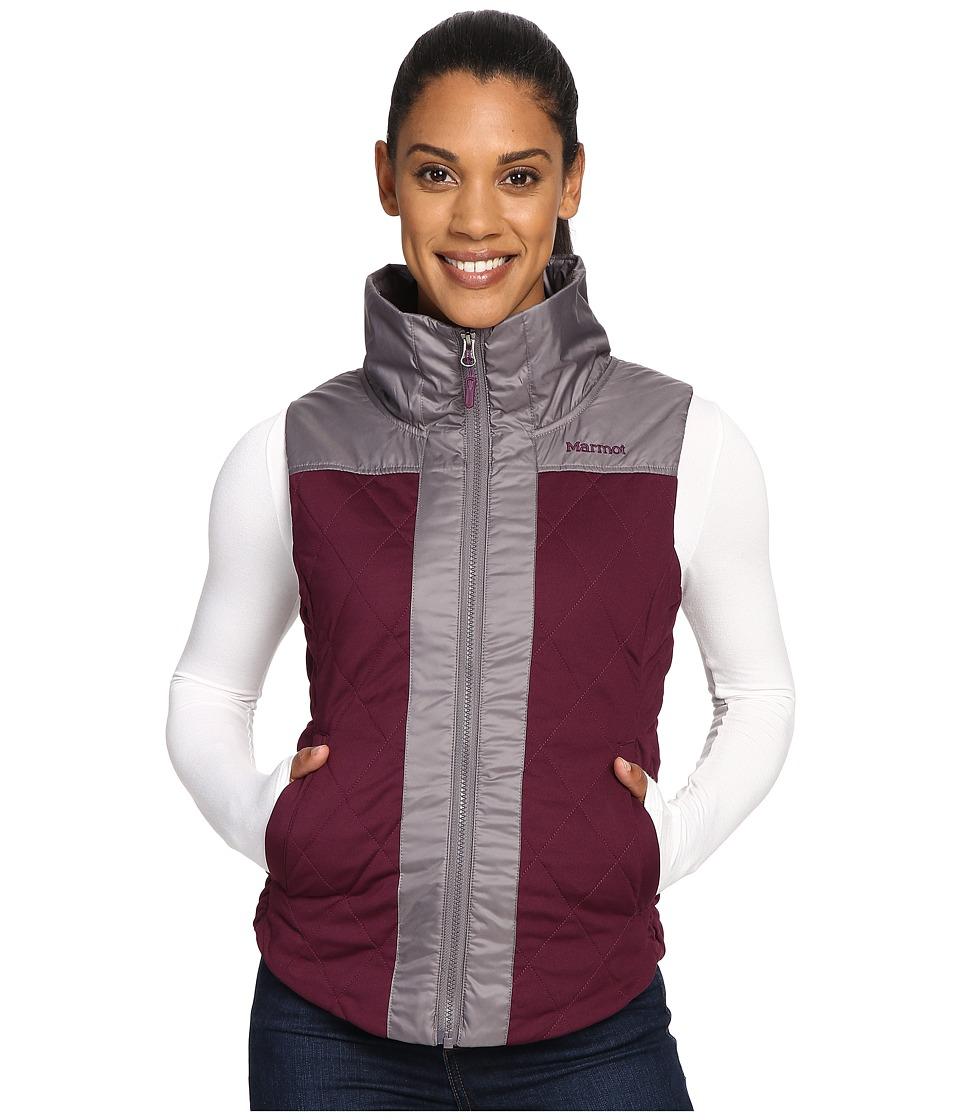 Marmot - Abigal Vest (Dark Purple/Winter Stone) Women's Vest