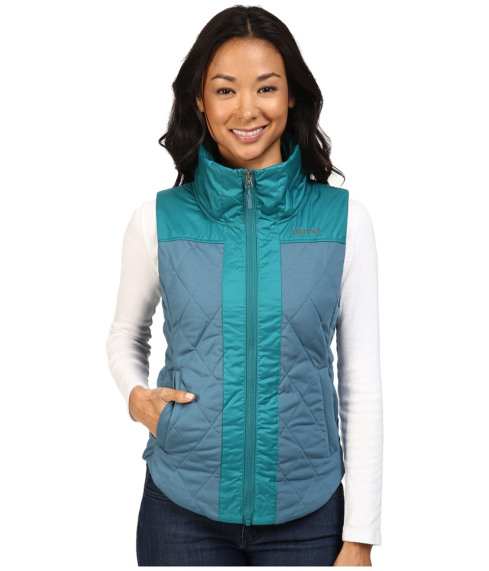 Marmot - Abigal Vest (Moon River/Everglade) Women's Vest