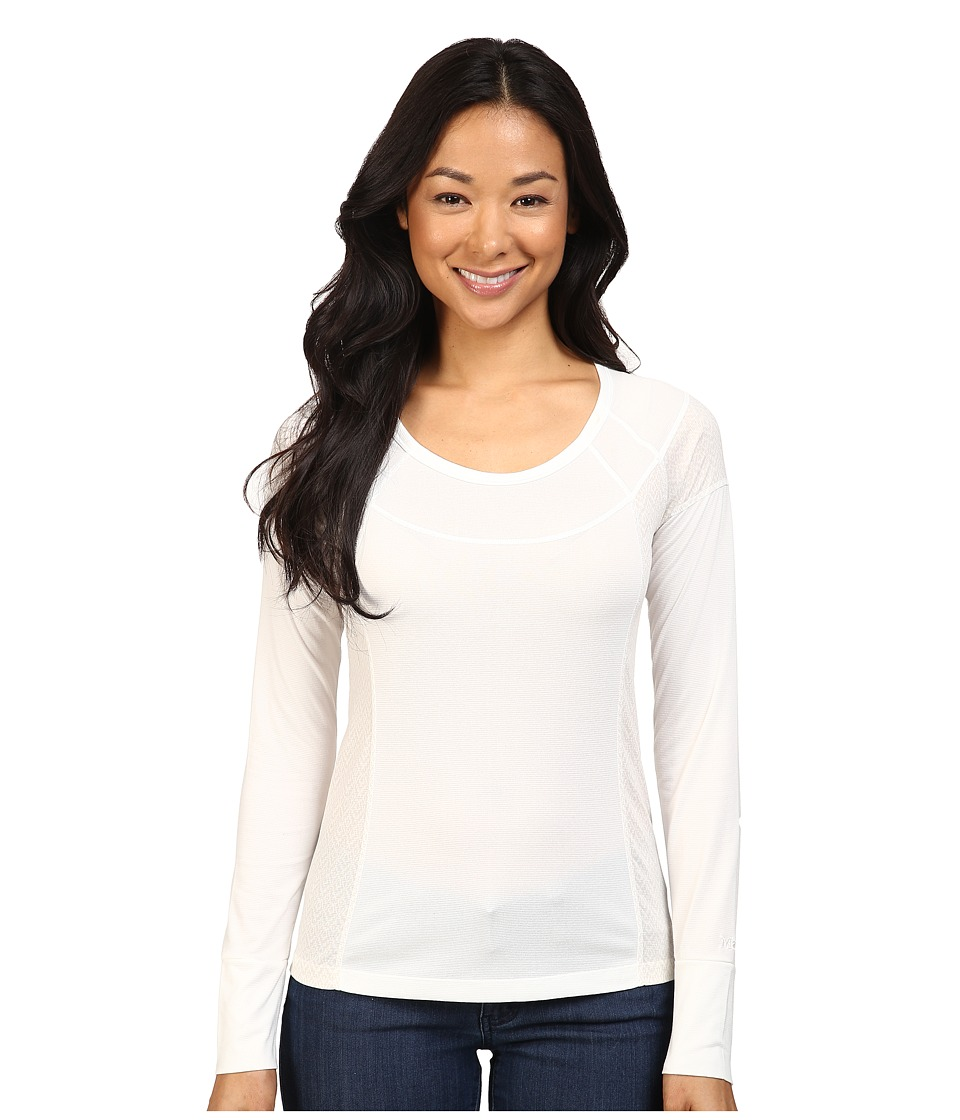Marmot - Eliza Long Sleeve (Soft White) Women's Clothing
