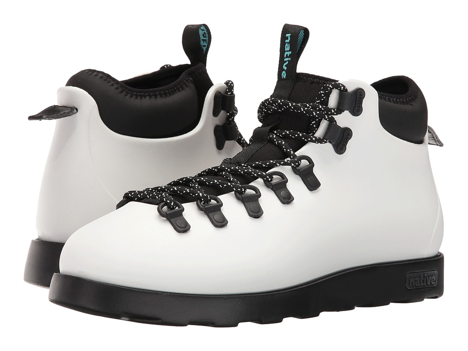 Native Shoes - Fitzsimmons (Shell White/Jiffy Black) Shoes