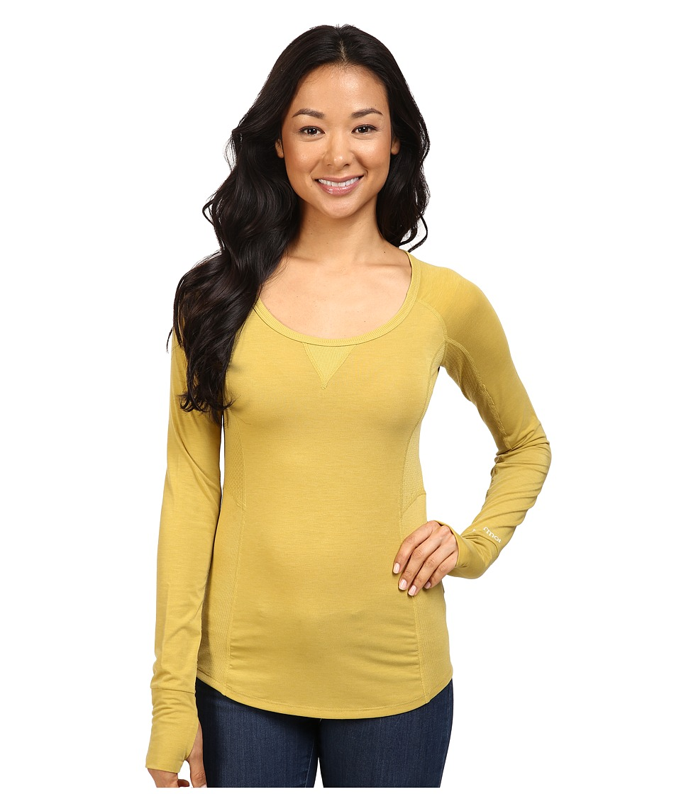 Marmot - Helen L/S (Golden Olive) Women's Clothing