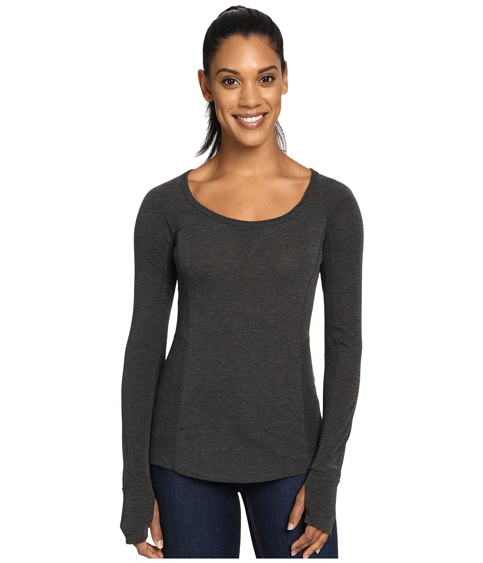 Marmot - Helen L/S (Black) Women's Clothing