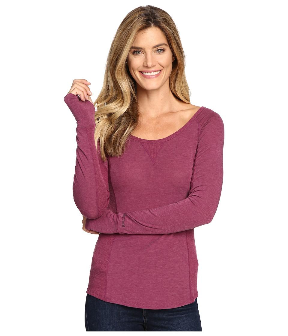 Marmot - Helen L/S (Magenta) Women's Clothing