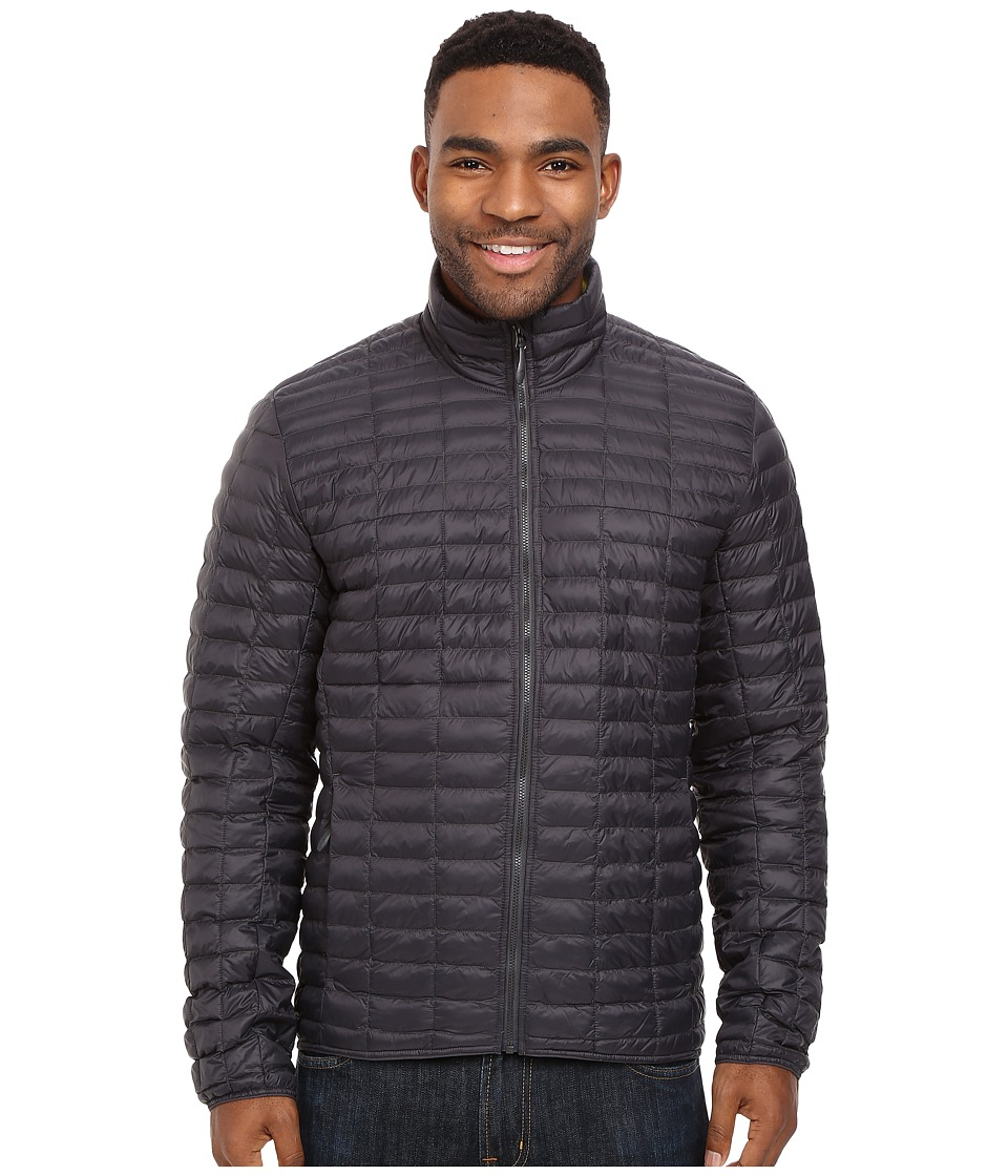 adidas Outdoor - Flyloft Jacket (Utility Black/Unity Lime) Men's Coat