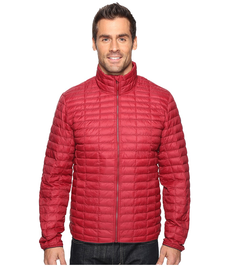 adidas Outdoor - Flyloft Jacket (Collegiate Burgundy/Utility Black) Men's Coat