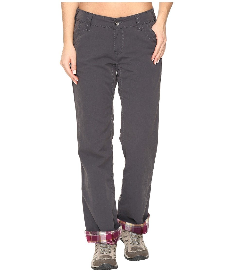 Marmot - Piper Flannel Lined Pants (Dark Steel) Women's Casual Pants