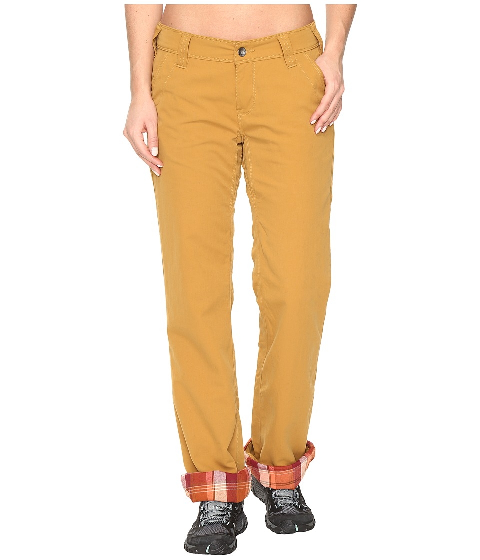 Marmot - Piper Flannel Lined Pants (Camel) Women's Casual Pants