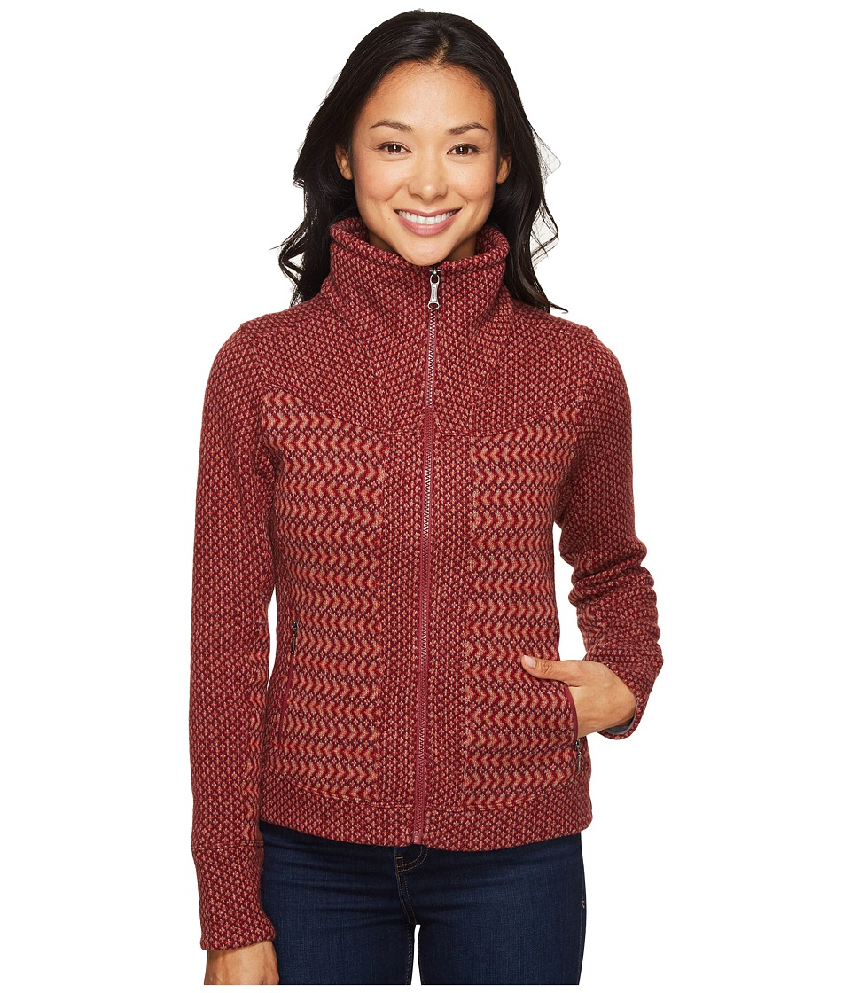 Marmot - Gwen Sweater (Madder Red) Women's Sweater