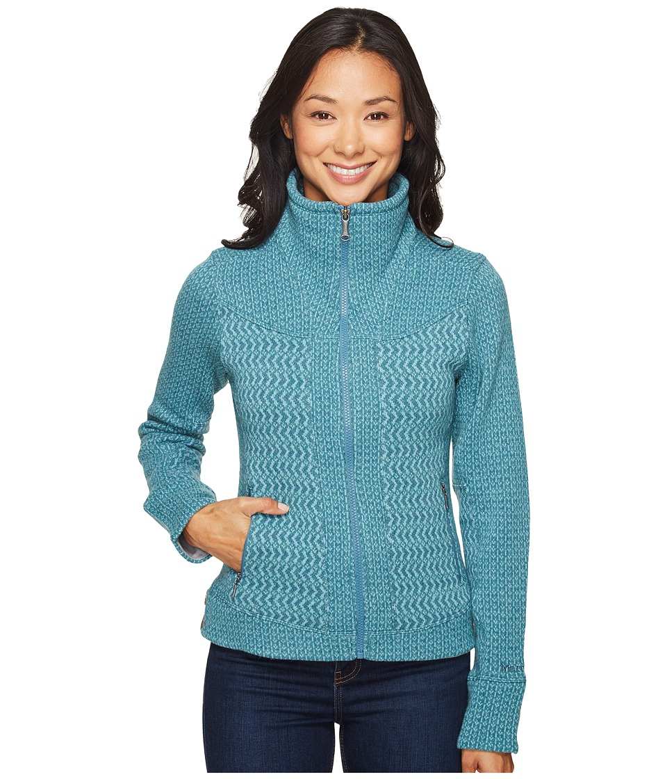 Marmot - Gwen Sweater (Moon River) Women's Sweater