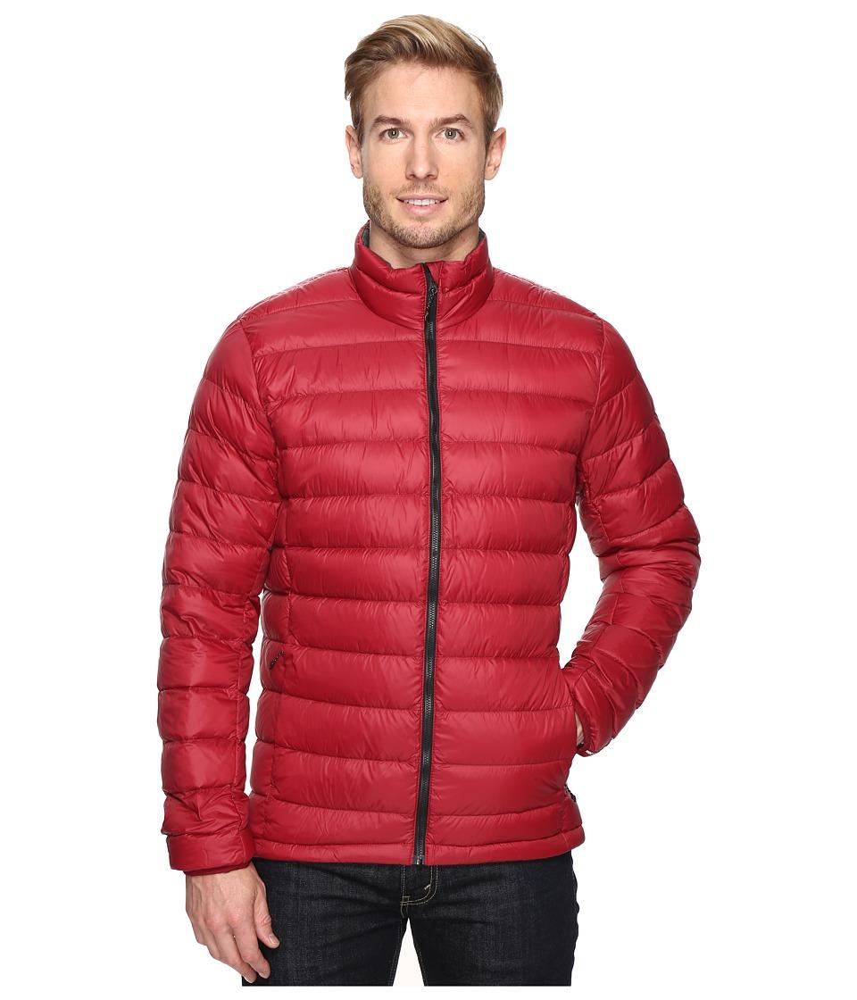 adidas Outdoor - Light Down Jacket (Collegiate Burgundy/Utility Ivy) Men's Coat