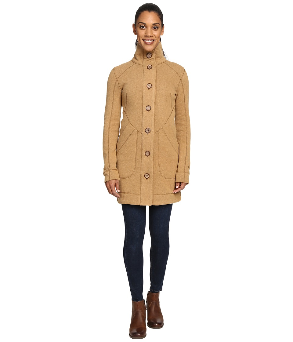 Marmot - Maddie Sweater (Camel Heather) Women's Coat