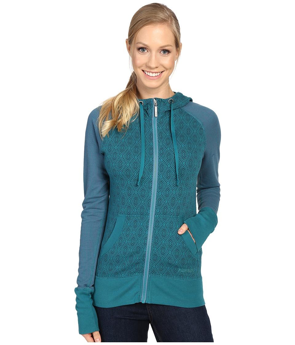 Marmot - Callie Hoodie (Everglade) Women's Sweatshirt