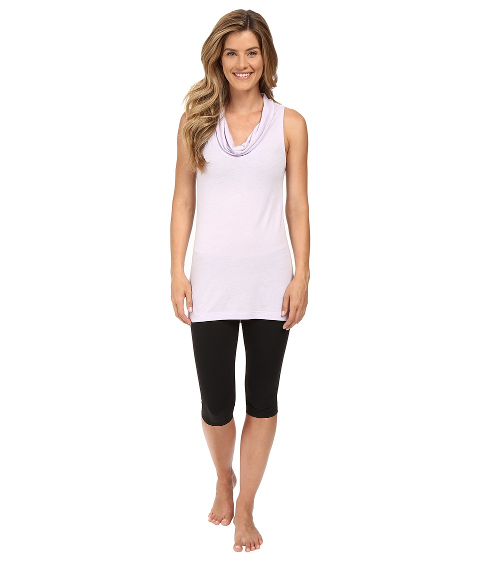 Lucy - Savasana Tunic (Sheer Lilac) Women's Sleeveless