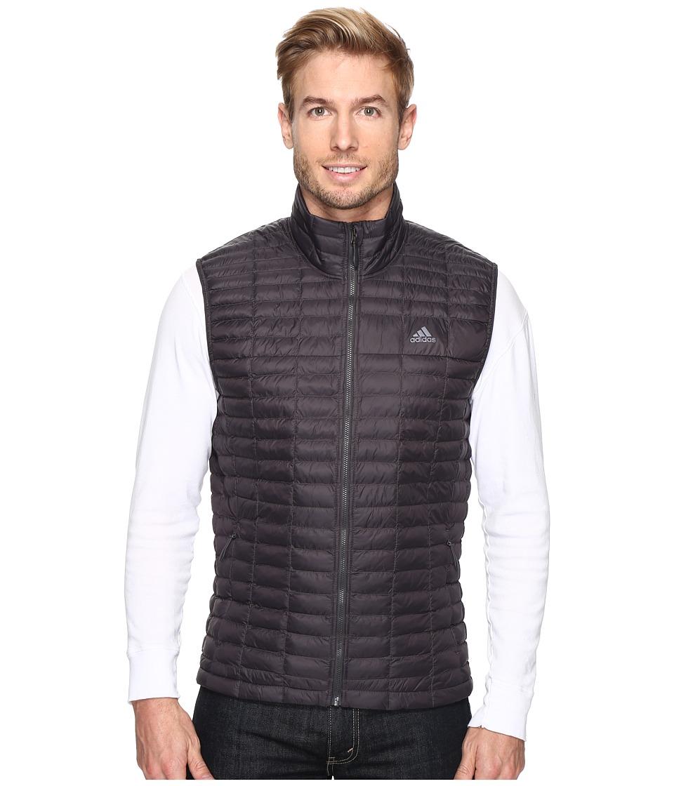 adidas Outdoor - Flyloft Vest (Utility Black/Unity Lime) Men's Vest