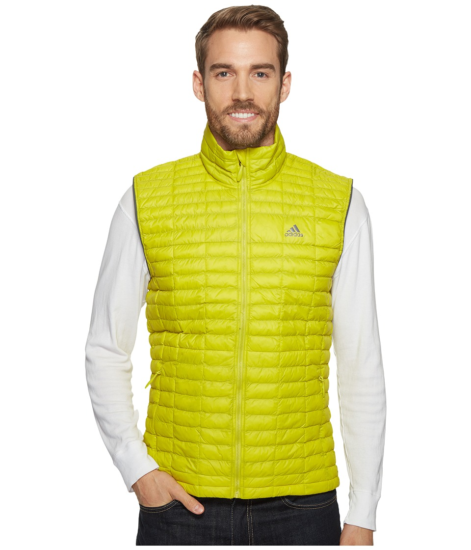 adidas Outdoor - Flyloft Vest (Unity Lime/Utility Ivy) Men's Vest