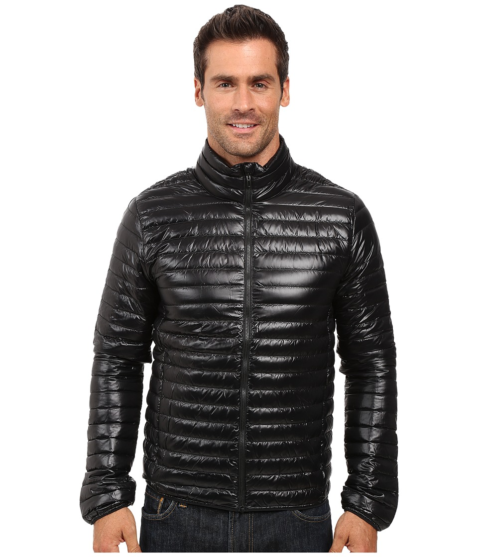 adidas Outdoor - Super Lightweight Down Jacket (Black) Men's Coat